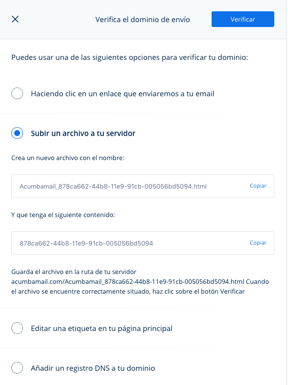 verificar dominio contra spam